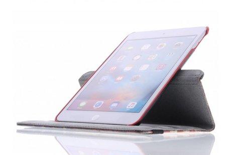 iPad Mini 4 hoesje - 360° draaibare Amerikaanse vlag