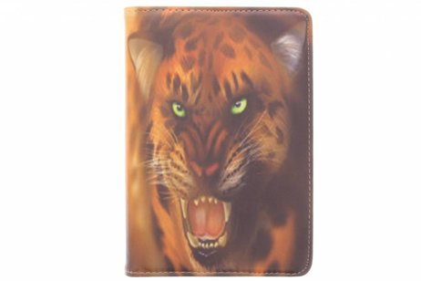 iPad Mini 4 hoesje - 360° draaibare tijger design