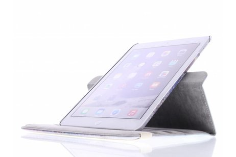 iPad Air 2 hoesje - 360° draaibare paars dromenvanger