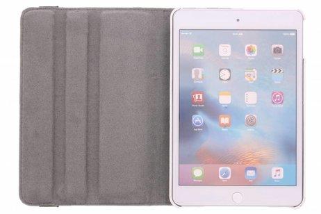 iPad Mini 4 hoesje - 360° draaibare bloemen design