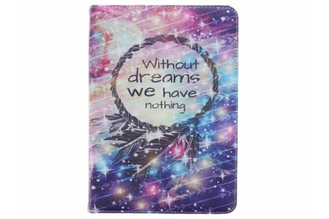 iPad Air 2 hoesje - 360° draaibare without dreaming