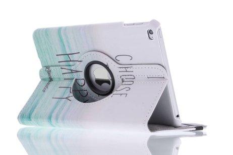 iPad Mini 4 hoesje - 360° draaibare happy design
