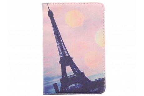 360° draaibare Paris at night design tablethoes voor de iPad Mini / 2 / 3