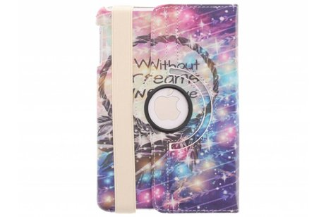 360° draaibare without dreams design tablethoes voor de iPad Mini / 2 / 3