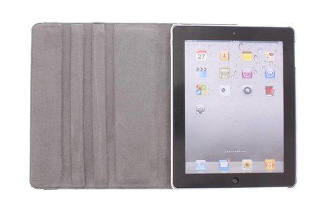 360° draaibare Paris at night design tablethoes voor de iPad 2 / 3 / 4