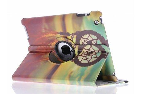 360° draaibare dromenvanger design tablethoes voor de iPad 2 / 3 / 4