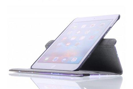 iPad Mini 4 hoesje - 360° draaibare dance design