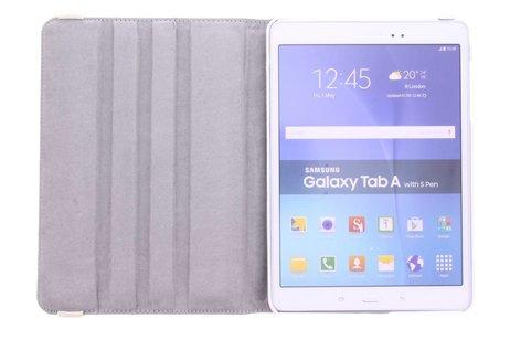 Samsung Galaxy Tab A 9.7 hoesje - 360° draaibare confetti design
