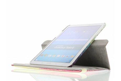 Samsung Galaxy Tab E 9.6 hoesje - 360° draaibare live the