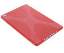 Rood X-line TPU tablethoes iPad mini 4