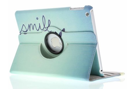 iPad Air hoesje - 360° draaibare smile design