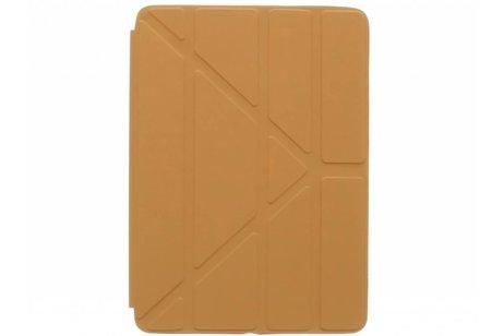 iPad Air 2 hoesje - Bruine Flipstand Cover voor