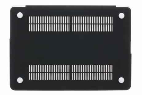 MacBook Pro 13.3 inch hoesje - Zwarte marmer design hardshell