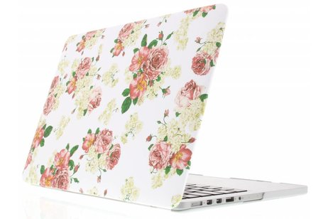 MacBook Air 13.3 inch hoesje - Roosjes design hardshell voor