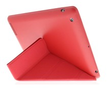 Rood Flipstand Cover iPad 2 / 3 / 4
