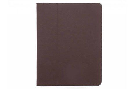 Bruine effen tablethoes voor de iPad 2 / 3 / 4