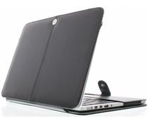 Zwart effen booktype MacBook 12 inch / 12 inch (2017)