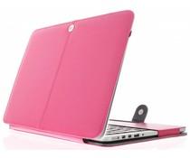 Fuchsia effen booktype MacBook 12 inch
