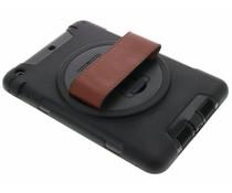 Zwart defender tablethoes met strap iPad Mini / 2 / 3