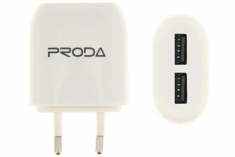 2-Poorts USB Adapter 2,1 ampère