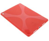 Rood x-line TPU tablethoes iPad Pro 9.7