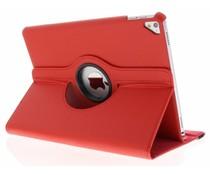Rood 360° draaibare tablethoes iPad Pro 9.7