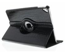 Zwart 360º draaibare krokodil tablethoes iPad Pro 9.7