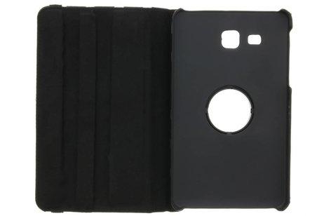 iPad Pro 9.7 hoesje - Zwarte 360º draaibare polka