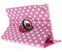 360º draaibare polka dot tablethoes iPad Pro 9.7