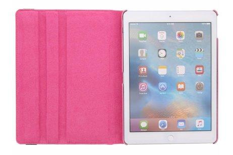 iPad Pro 9.7 hoesje - Roze 360º draaibare polka