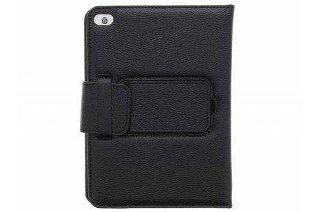Zwarte booktype hoes met Bluetooth toetsenbord voor de iPad Mini / 2 / 3