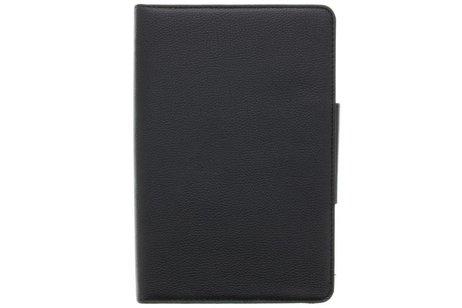 Zwarte booktype hoes met Bluetooth toetsenbord voor de Samsung Galaxy Tab E 9.6