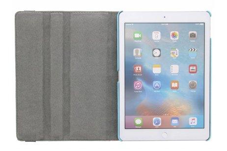 iPad Pro 9.7 hoesje - 360° draaibare bloemen design