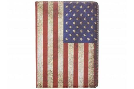 iPad Pro 9.7 hoesje - 360° draaibare Amerikaanse vlag