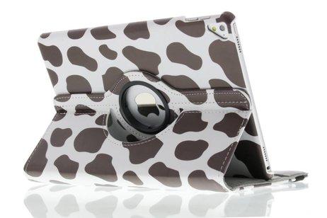 iPad Pro 9.7 hoesje - 360° draaibare koe design