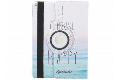iPad Pro 9.7 hoesje - 360° draaibare happy design