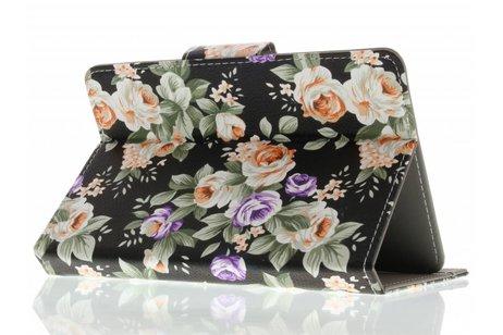 Universele bloemen design tablethoes 10 inch