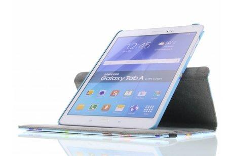 Samsung Galaxy Tab A 9.7 hoesje - 360° draaibare uiltjes design