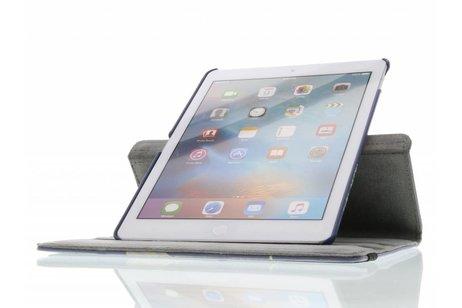 iPad Pro 9.7 hoesje - 360° draaibare smile design