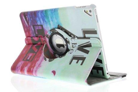 iPad Pro 9.7 hoesje - 360° draaibare live the