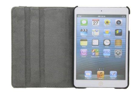 360° draaibare bloesem design tablethoes voor de iPad Mini / 2 / 3