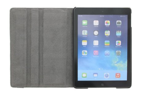 iPad Air hoesje - 360° draaibare don't touch