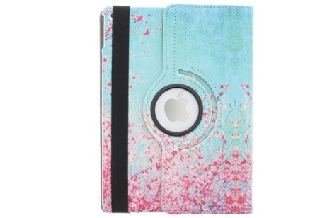 iPad Air 2 hoesje - 360° draaibare bloesem design