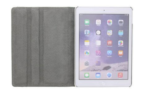 iPad Air 2 hoesje - 360° draaibare don't touch
