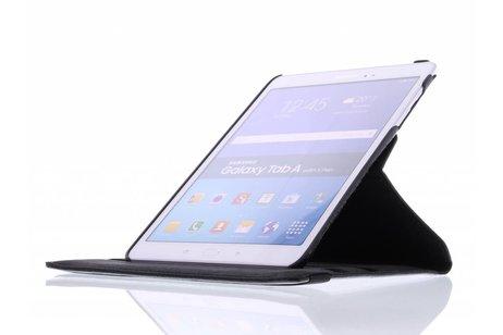 Samsung Galaxy Tab A 9.7 hoesje - 360° draaibare bloesem design