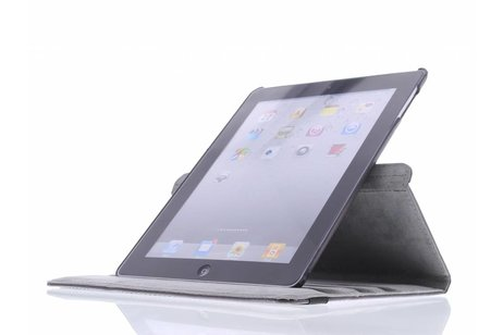 360° draaibare smile design tablethoes voor de iPad 2 / 3 / 4
