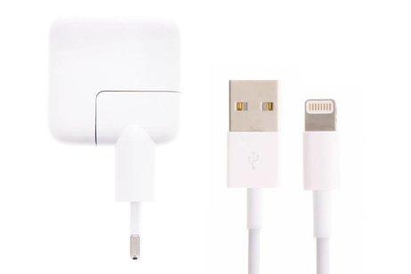 Apple Power Adapter 2,4A + Lightning naar USB-kabel 200cm