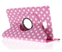 360° draaibare polka dot tablethoes Galaxy Tab A 10.1