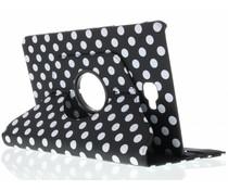 360° draaibare polka dot tablethoes Galaxy Tab A 10.1