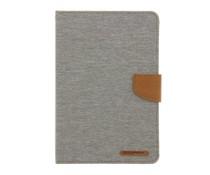 Mercury Goospery Canvas Diary Case iPad Mini / 2 / 3 - Grijs
